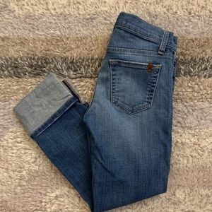 Joe's Jeans High Rise Cuff Crop Anisa Jeans